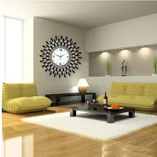 Small Picture Contemporary Oversized Wall Clock Oversized Wall Clock As a