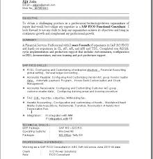 Resume Templates For Word 2018 Beauteous Sap Implementation Resume Gallery Resume Format Examples Download