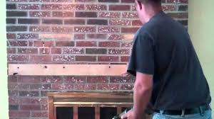 how to hide tv wires over brick fireplace for your home design