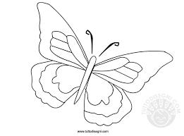 Farfalla Disegno Da Colorare Tuttodisegnicom