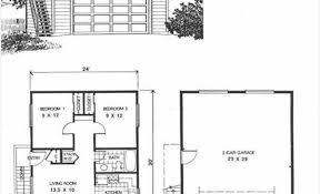 1 Bedroom House Plans With Garage Smartly