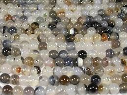 Купить натуральные <b>бусины</b> из камня <b>агат моховой</b> 8 мм в ...