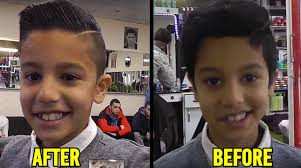 Hair Style Before And After best modern boys hairstyle before and after youtube 1900 by wearticles.com