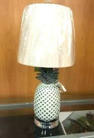 tommy bahama lamps lamp shades lovely lamps and shade beautiful pineapple inch table coastal crystal finial
