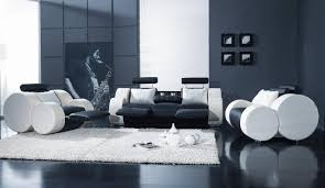 Types Of Chairs For Living Room Black White Leather Modern 3pc Living Room Set T17
