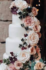 45 Simple Elegant Chic Wedding Cakes Cake Art Wedding Cakes