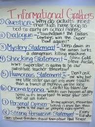 attention grabbing sentences for persuasive essays samples  attention getters in 6th grade argumentative essay