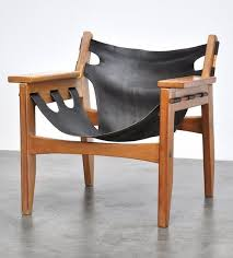 brazilian wood furniture. sergio rodrigues brazilian pine and leather chair for oca brazilian wood furniture capricious