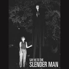 picture of low cost high scare slender man