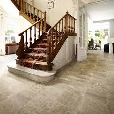 Victorian Tile Design Vinyl Flooring Sheet Non Slip Lino Kitchen - Non slip vinyl flooring for bathrooms
