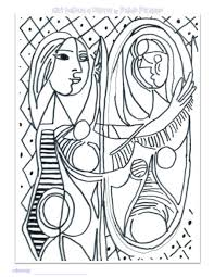 Small Picture Pablo Picasso Coloring Pages Picasso Girls and Coloring books