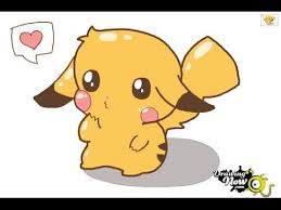 anime chibi pikachu drawing. Interesting Chibi How To Draw A Chibi Pikachu For Anime Drawing W