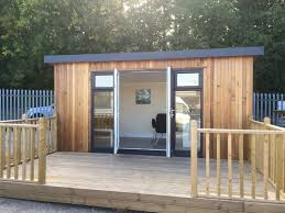 home office in garden. Summer House Scotland: Is Planning Permission Needed? Home Office In Garden
