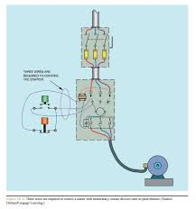 basic control circuits three wire control circuits electric equipment