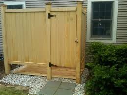 outdoor shower enclosure kits ideas