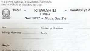 How To Revise A Paper How To Revise For Kcse Kiswahili Examination And Sample