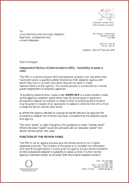 Luxury Adoption Recommendation Letter Sample Personal Leave