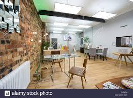 estate agent office design. A Modern Clean Light Airy Open Plan Estate Agent\u0027s Office Interior, Bare Brick Wall UK Agent Design