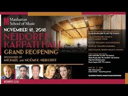 Neidorff Karpati Hall Grand Reopening Concert