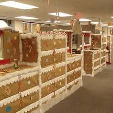 office xmas decorations. Christmas In The Office Fun Ideas - Gingerbread Cubes. What A Blast! This Is Awesome Xmas Decorations