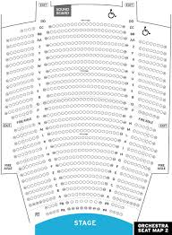 Keybank State Theater Interactive Seating Chart Www