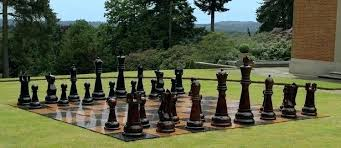 oversized chess piece decor large wooden outdoor pieces home board color classification medium size improvement good