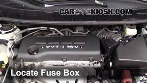 replace a fuse 2009 2010 pontiac vibe 2009 pontiac vibe 1 8l 4 cyl