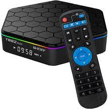 Amazon.com: T95Z Plus Android TV Box 3GB RAM/32GB ROM Android 7.1 Octa Core  Amlogic S912 TV Box with 4K Dual Band WiFi 2.4GHz/5GHz Bluetooth 4.0 64  Bits: Electronics