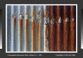 corrugated galvanized steel julian ca 1990 regarding how to rust metal plans 10