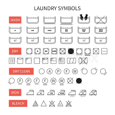 15 Simple Line Icons Text Images Android Phone Clothing Laundry Soap