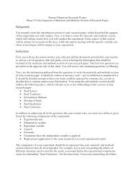 method section of research paper method sections in research thesis paper methods section
