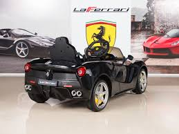 How to pair your ride on car parental remote control. Amazon Com Big Toys Direct Bigtoysdirect 12v Ferrari Laferrari Battery Operated Kids Ride On Car With Mp3 And Remote Control Black Toys Games