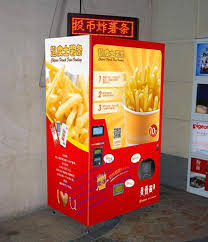 Vending Machine In French Impressive Automatic Vending Machine Fried French Fries Vending Machine For