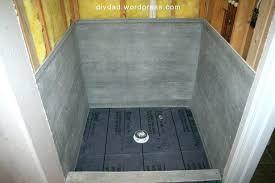 tile shower floor pan 2 fresh vs drain installation kit