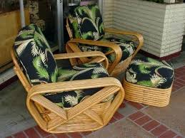 Vintage Bamboo Furniture Wicker Chairs