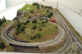 small n scale train layout plans