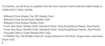 Cpop Charts Cpop_charts Twitter