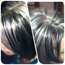 Platinum Blonde Highlights With Red And