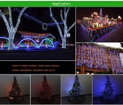 Rgb Outdoor Christmas Lights 10m 220v Rgb Led String Light Eu 110v Us Plug Holiday