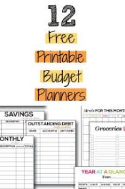 Budget Planners Free Free Printable Budget Planners Budget Binder Fit Attitudes