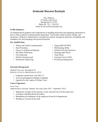 Sample Resume For College Students With No Experience Resume Templates Exceptional Format For High School Students With No 13