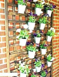 herb wall planters garden planter on indoor and ceramic vertical