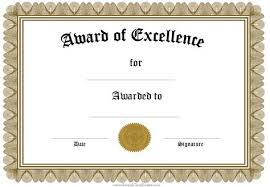 free recognition certificates free funny award certificates templates editable award of