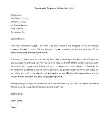 Letter Of Introduction Templates How To Introduce Yourself