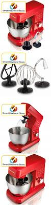 Kitchen Small Appliance Stores Appliances Stand Mixer Red Kitchen Stainless Steel 35 Quart