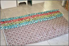 braided rag rug diy