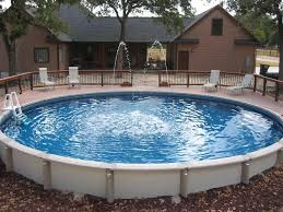 attractive above ground pool fountain diy
