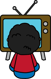 boy watching tv clipart. watching tv kids watch clipart clipartfest boy n