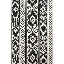 tribal area rugs handmade flat weave tribal pattern white black wool area rug tribal area rugs wool