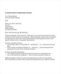 Job Application Letter Samples Free Amp Premium Templates